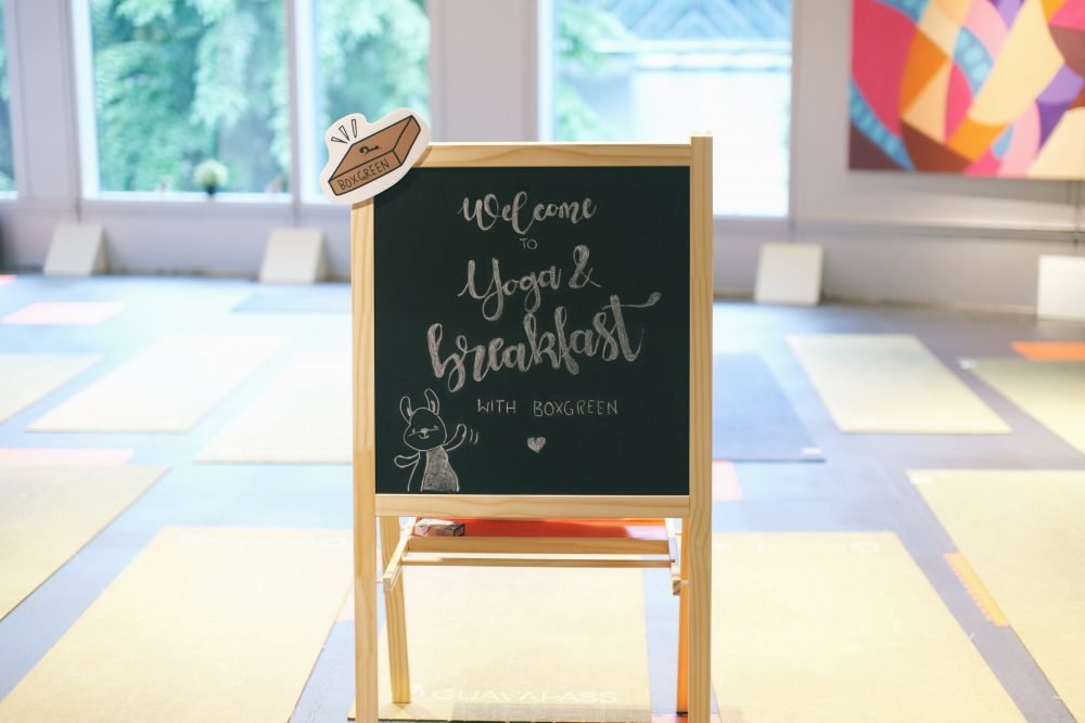 Yoga & breakfast with boxgreen